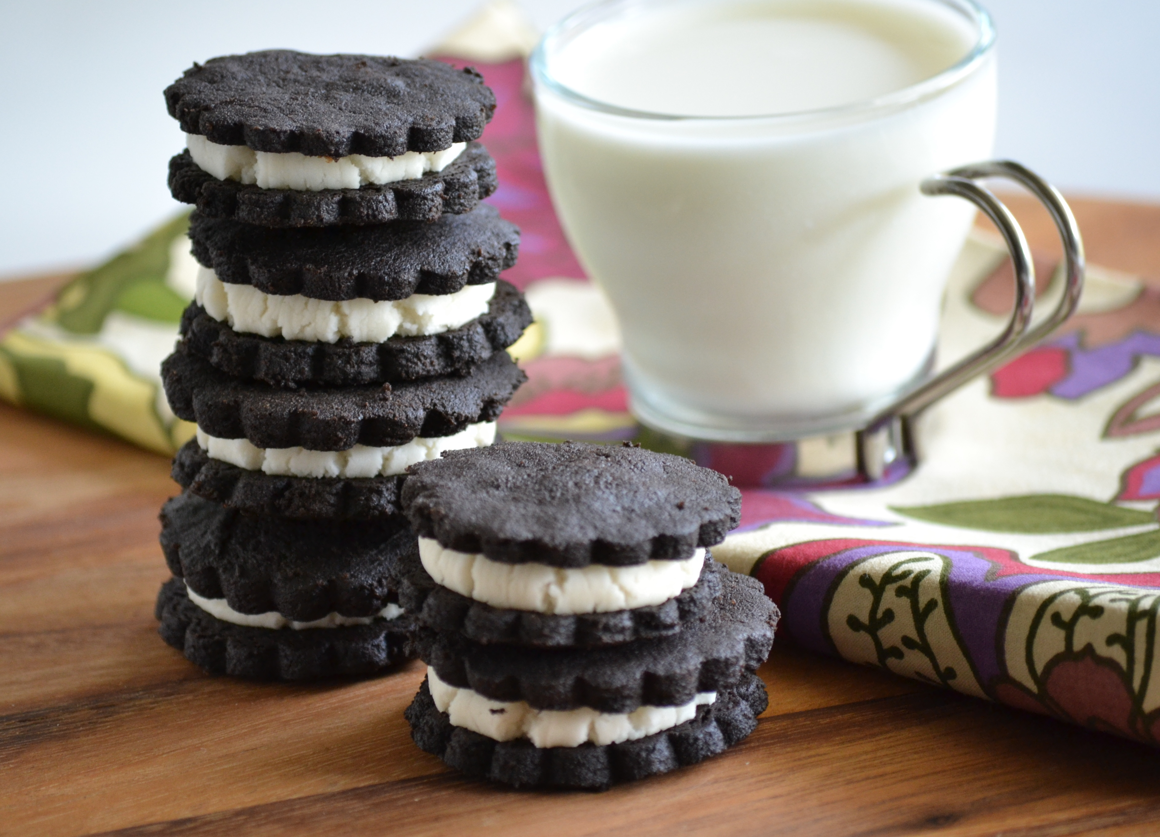 Homemade Oreos. Yep, just like the real thing. Only better ...