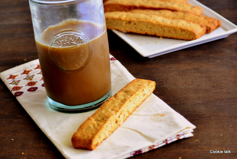 Cinnamon Hazelnut Biscotti | Cookie Talk